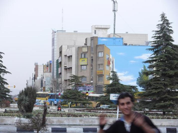 Wall paintin in Vanak