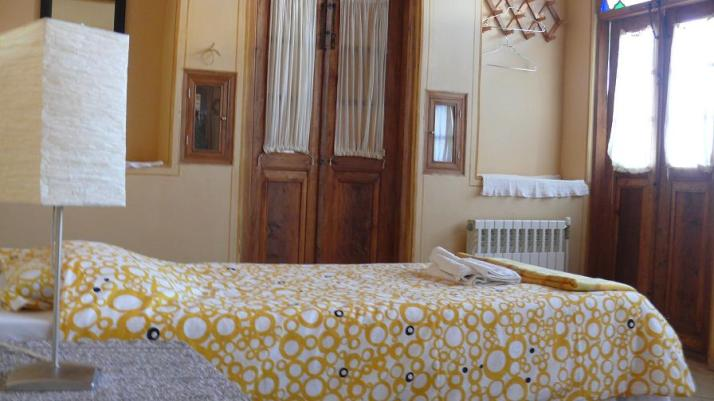 A double room in Dibai House