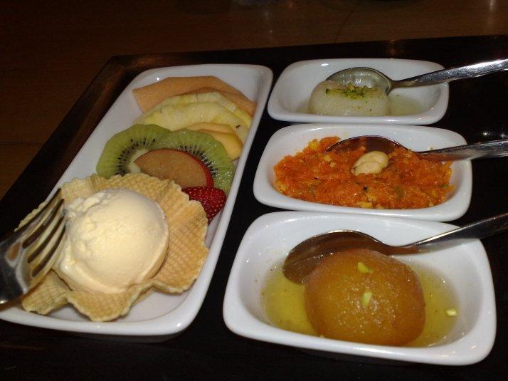 The dessert